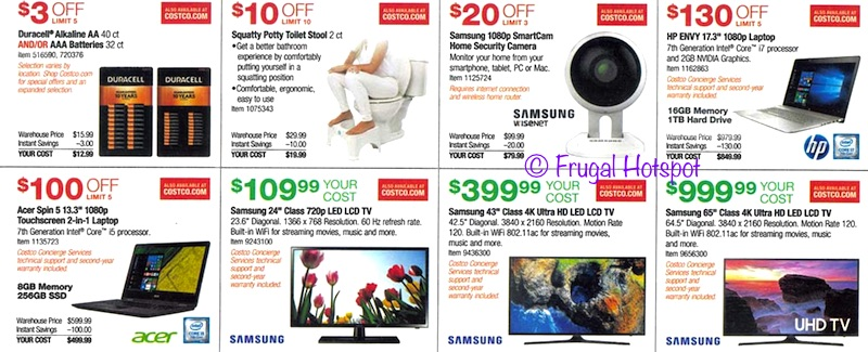 Costco Rego Park >> Costco Coupon Book: August 31, 2017 – September 24, 2017. – Frugal Hotspot
