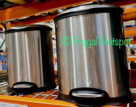 84f98e462593 Sensible Eco Living Stainless Steel 2.1 Gallon (8L) Trash Can 2-Pack ...