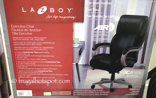 Costco Sale La Z Boy Executive Office Chair 24999 Frugal Hotspot