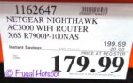 Costco Price: Netgear Nighthawk X6S AC3000 Tri-Band WiFi Router