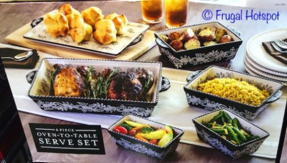 Oven To Table Serve Set