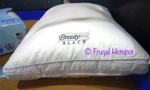 Costco Display of Beautyrest Black Down Alternative Pillows 2-Pack