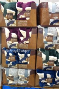 Life Comfort Ultimate Sherpa Throw at Costco
