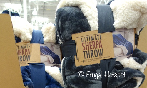 Costco Sale Ultimate Sherpa Throw 11 99 Frugal Hotspot