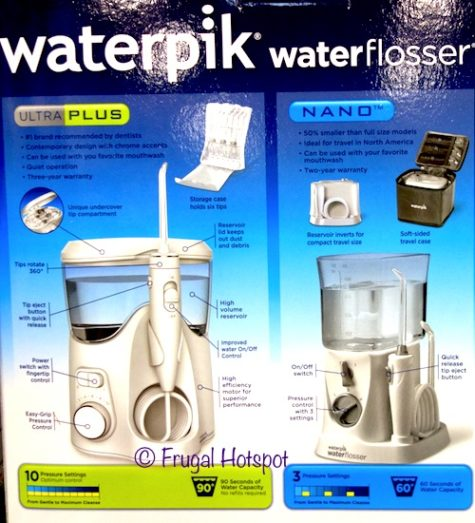 Waterpik Ultra Plus with Nano Water Flosser Combo Pack at Costco