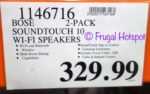 Costco Sale Price: Bose SoundTouch 10 Wireless Speakers 2-Pack