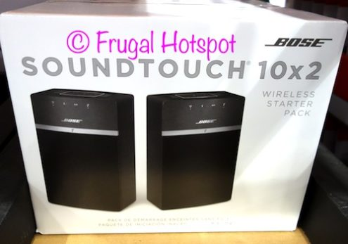 Bose SoundTouch 10 Wireless Speakers 2-Pack at Costco