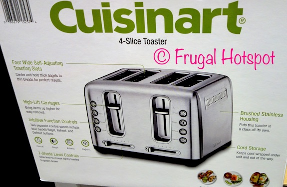Costco Sale Cuisinart 4 Slice Toaster $39 99