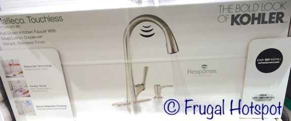 Kohler Malleco Touchless Pull Down Faucet at Costco