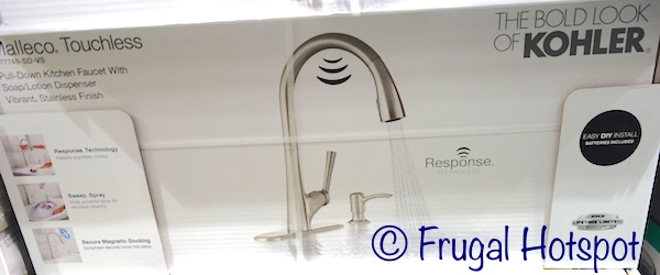 Costco Sale: Kohler Malleco Touchless Pull Down Faucet $199.99 ...