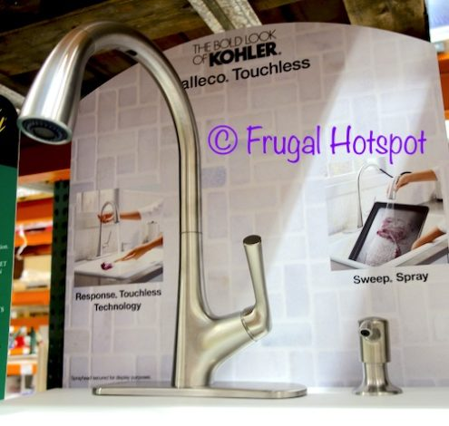 Costco Sale: Kohler Malleco Touchless Pull Down Faucet $199.99