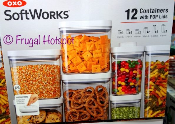 Oxo SoftWorks 12-Piece Container Set Costco