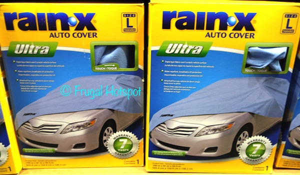 Costco Sale Rain X Car Cover 24 99 Frugal Hotspot