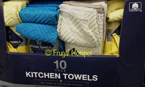 Costco Sale: Luxe Living Kitchen Towel 10-Pk $8.99