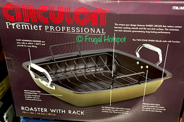 Circulon Premier Professional Roaster with Rack at Costco