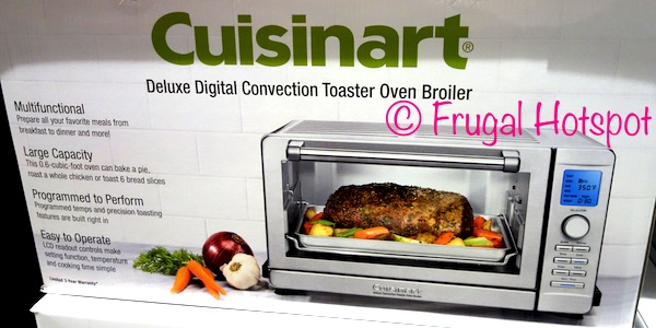 broiler toaster oven deluxe watch cuisinart convection tob youtube