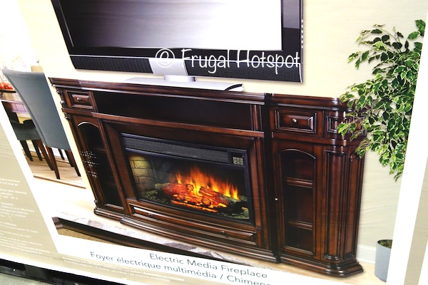 11/26/17. A TV console that can warm up a room. Costco has the Well Universal Ember Hearth Electric Media Fireplace 72? on sale for a limited time. It features...