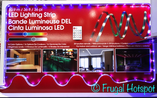 Costco Sale: LED Lighting Strip 36 ft $29.89