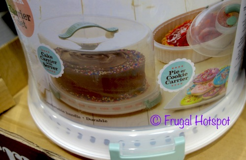 Costco Sale Sweet Creations 2 Pack Pie And Cake Carrier