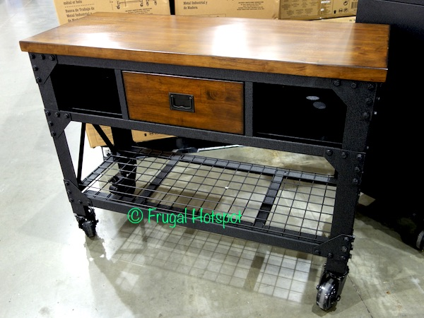 Whalen 48 Industrial Metal And Wood Workbench Costco