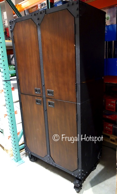 Costco sale whalen industrial metal and wood storage for Wood and metal cabinets
