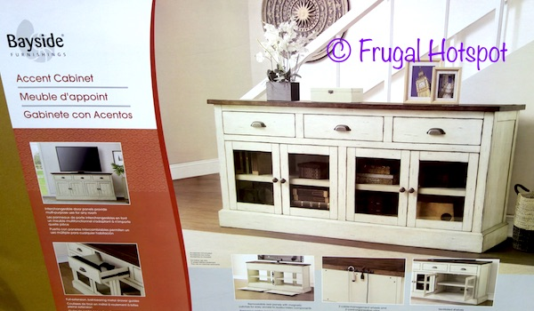 Costco Bayside Furnishings 72 Quot Accent Cabinet 499 99 Frugal Hotspot