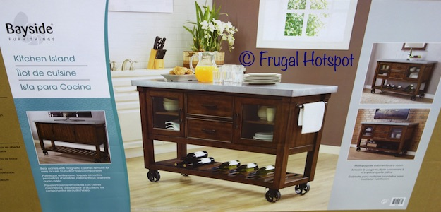 Costco Bayside Furnishings Kitchen Island 399 99 Frugal
