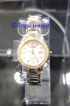 Costco Sale: Citizen Eco-Drive Stainless Steel Ladies Watch $119.99