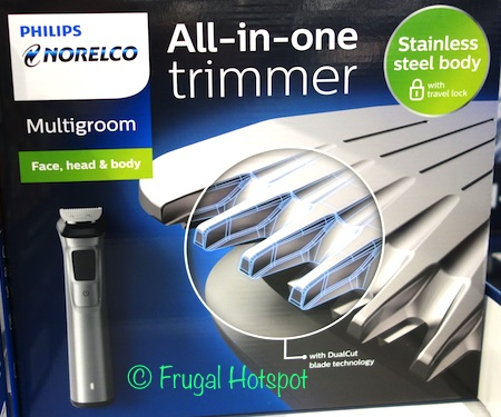 Costco Sale: Philips Norelco Multigroom All-In-One Trimmer $29.99