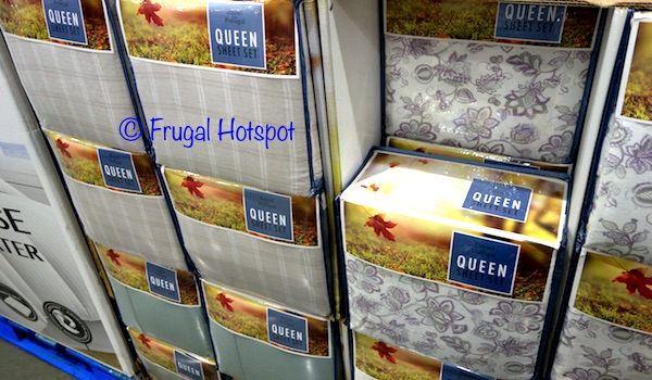 Costco Sale: Flannel from Portugal Queen Sheet Set $23.99