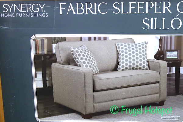 costco has the synergy home chair with twin sleeper in stores for a very limited time itu0027s priced at while supplies last