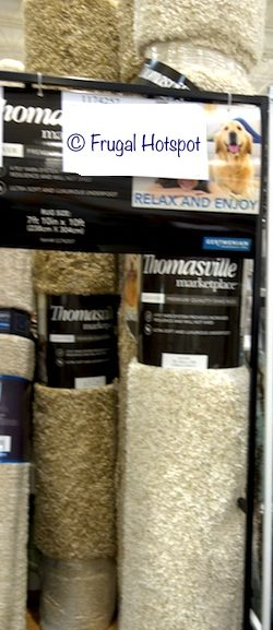"Costco Sale: Thomasville Marketplace Andover Shag Rug 7'10"" x 10′ $179.99"