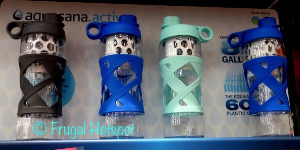 Aquasana Active The Clean Water Filter Bottle 2-Pack at Costco