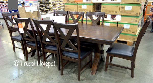 Costco Has The Bayside Furnishings 9 Piece Dining Set On Sale For $699.99  (after Instant Savings), Now Through February 9, 2018. That Is $200 Off  Costcou0027s ...