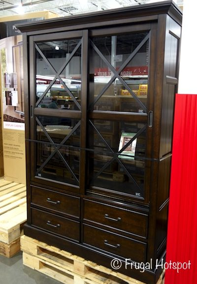 Costco Sale: Bayside Furnishings Sliding Door Bookcase $399.99