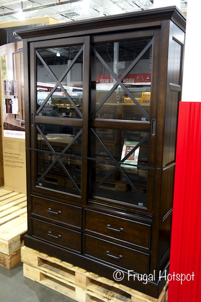 Costco Bayside Furnishings Sliding Door Bookcase 499 99
