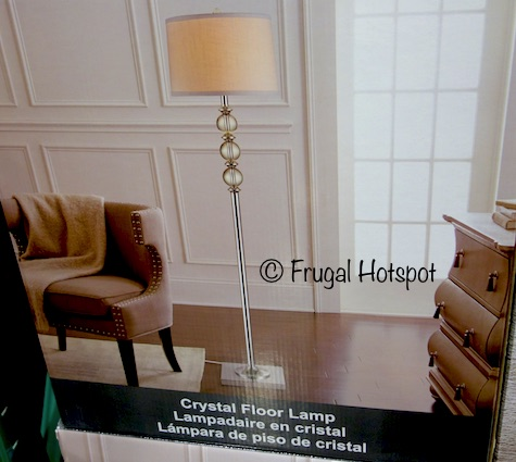 ... Designs Crystal Floor Lamp on sale for $54.99 (after instant savings),  now through January 21, 2018. That is $15 off Costco's regular price of  $69.99. - Costco Sale: Bridgeport Designs Crystal Floor Lamp $54.99 Frugal