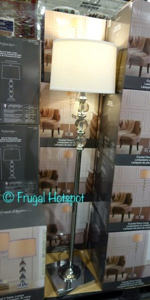 Bridgeport Designs Crystal Floor Lamp at Costco