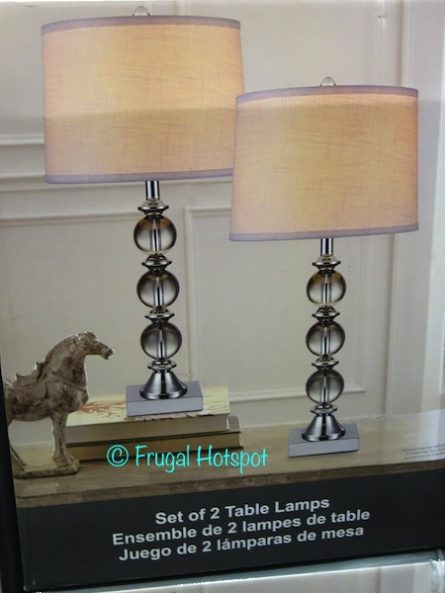 Bridgeport Designs Set of 2 Table Lamps at Costco