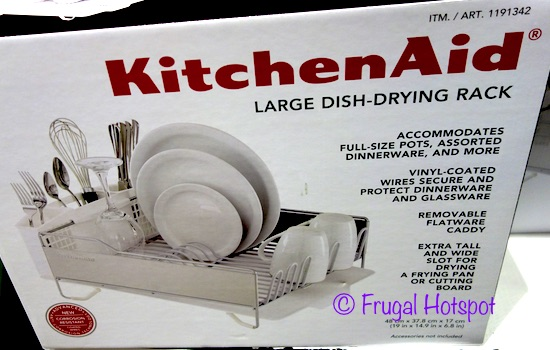 Costco Sale Kitchenaid Large Dish Drying Rack 23 99