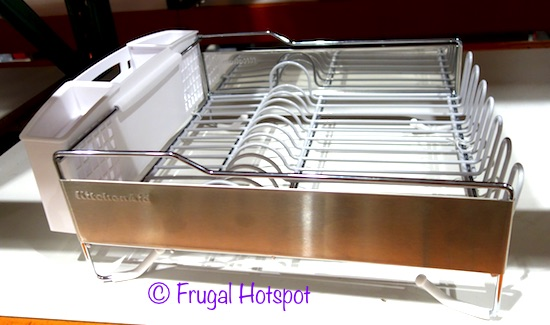 Extra Tall And Wide Slot For Drying A Frying Pan Or Cutting Board U2022  Vinyl Coated Wires U2022 Stainless Steel Sides U2022 Removable Angled Drainboard  Directs Water ...