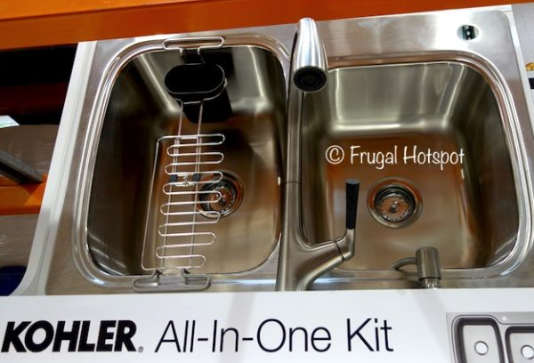 Kohler Sink and Faucet All-In-One Kit at Costco