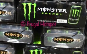 Monster Energy Drink at Costco