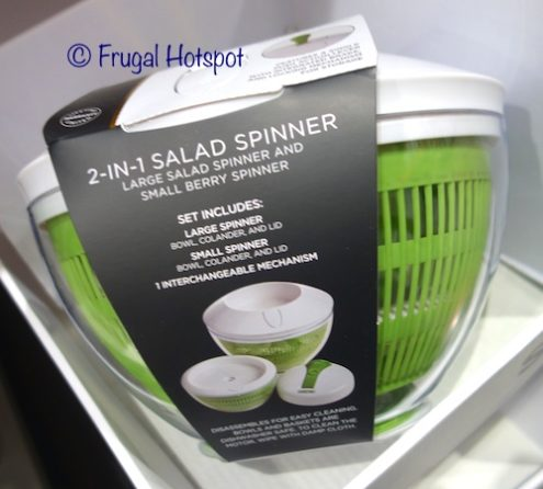 Sabatier 2-in-1 Salad Spinner at Costco