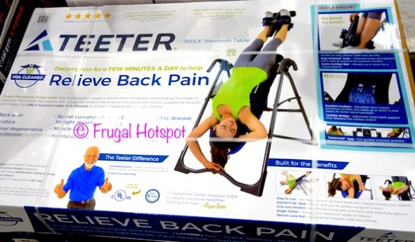 Teeter Inversion Table Model 900LX at Costco