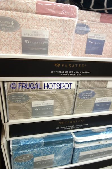 Veratex Sheet Set 6-Piece Set at Costco