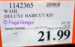 Costco sale Price: Wahl Deluxe All-in-One Haircut Kit