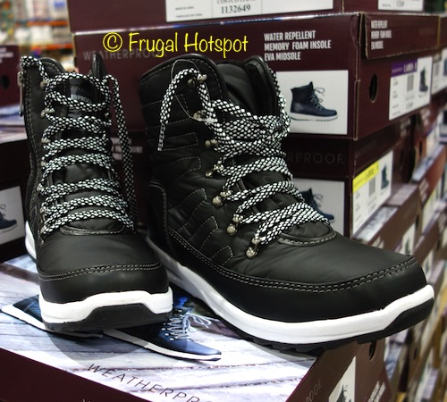 c90a4f4ecead71 Costco has the Weatherproof Ladies Sneaker Boot on sale for  19.99 (after  instant savings)