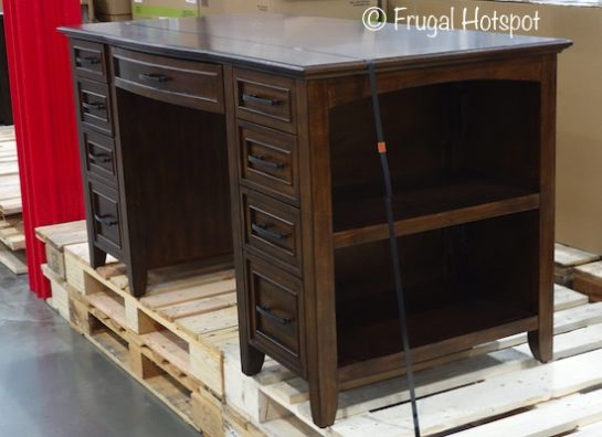 Bayside Furnishings Executive Writing Desk at Costco