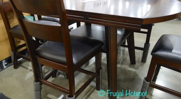 Bayside Furnishings 7-Piece Square to Round Counter-Height Dining Set at Costco